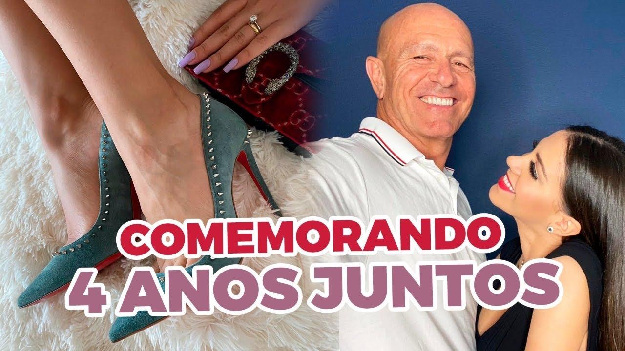 ARRUME-SE COMIGO JANTAR ROMÂNTICO | Nosso Aniversário