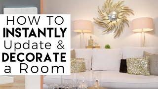 White Home Decor | Interior Design | Decorating & Painting Tips