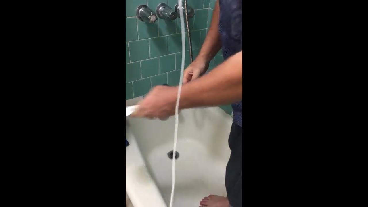 Unclog Bathroom Drains (Bathtub Toilet Sink) Fast and Cheap Water ...