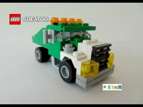 สอนต่อเลโก้รถบรรทุก แบบที่ 1 (วิดีโอรีวิวของเล่น)