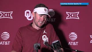 OU Football: Lincoln Riley full press conference