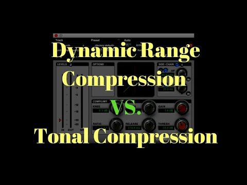 Dynamic Range Compression VS. Tonal Compression