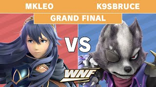 WNF 3.13 - MkLeo (Lucina) Vs. K9sBruce (Wolf) Grand Finals - Smash Ultimate