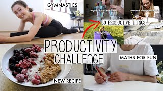 I TRIED RUBY GRANGER'S 50 PRODUCTIVE THINGS TO DO AT HOME LOCKDOWN | HOW MANY CAN I DO IN 24 HOURS?