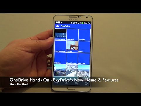 OneDrive Hands On - SkyDrive's New Name & Features