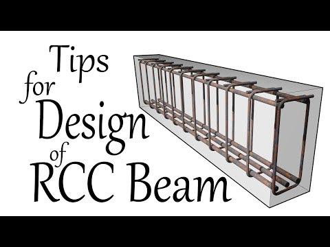 Tips For Design Of RCC Beam - Civil Engineering Videos