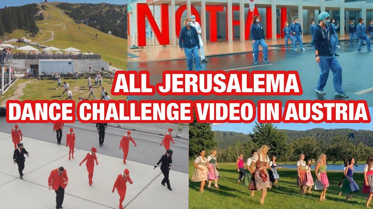 All Jerusalema dance challenge video in Austria