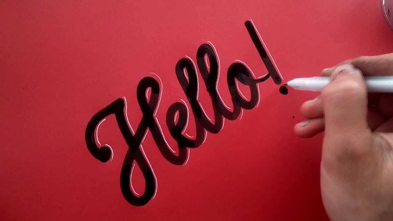 Calligraphy compilation super satisfying youtube Calligraphy youtube
