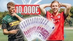 Die 10.000€ Fußball Challenge!