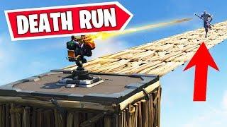 *NEW* TURRET DEATH RUN Mini game in Fortnite Battle Royale