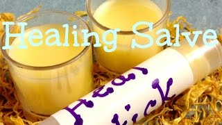 Homemade Healing Salve Recipe - DIY in 5 Minutes