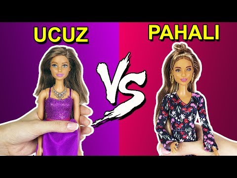Barbie Ucuz Vs Pahalı Kombin Challenge Dila Kent