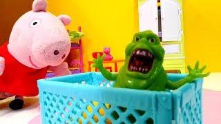 Пеппа игрушки — Мультики для детей — Пеппа и пришелец — Часть 2