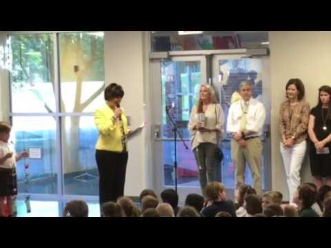 Webb School of Knoxville Seniors Crane Ceremony
