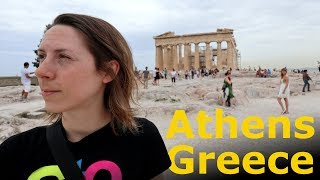 Our first days in Athens, Greece