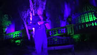 The Haunted Mansion, Constance the Bride and Broom the Butler, Halloween Fun! 2018