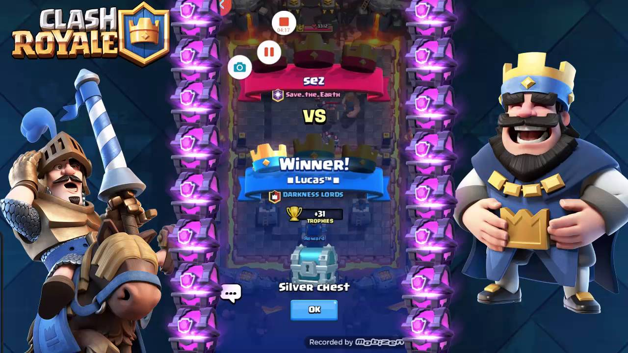 Mon meilleur deck arene 4 cost 4 elixir clash royale for Clash royale meilleur deck arene 7