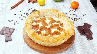 Творожный пирог с абрикосами - Рецепты от Со Вкусом