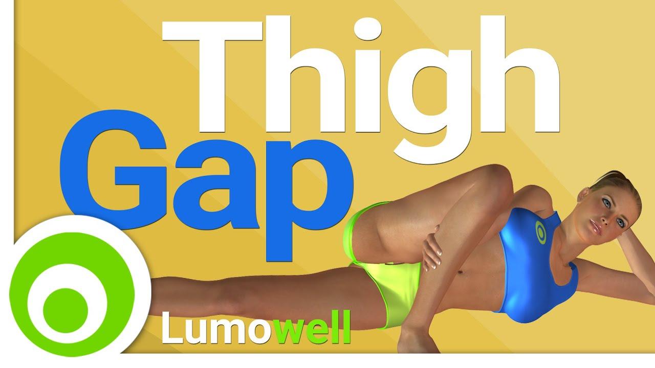 Thigh gap ejercicios