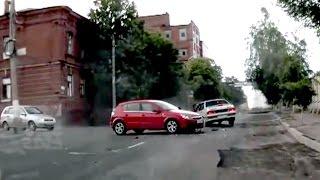Аварии с видеорегистратора, ДТП и происшествия на дорогах! #10
