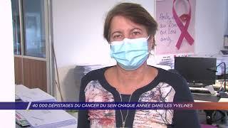 Yvelines | 40 000 dépistages du cancer du sein chaque année dans les Yvelines