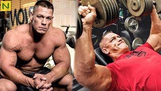 プロレスラーの筋力は凄い!!ジョン・シナの高重量トレーニング【筋トレ】