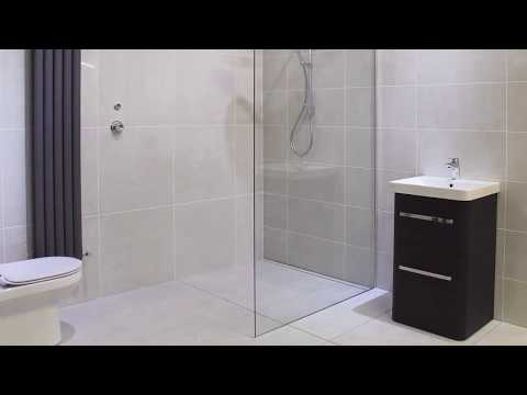 How To Install A Wet Room Shower Deck - N&C Premier Infinity Shower Deck