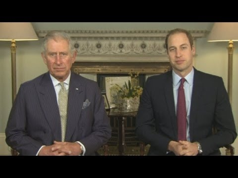 Shocking images of slaughtered wildlife released as Prince Charles and William call for action