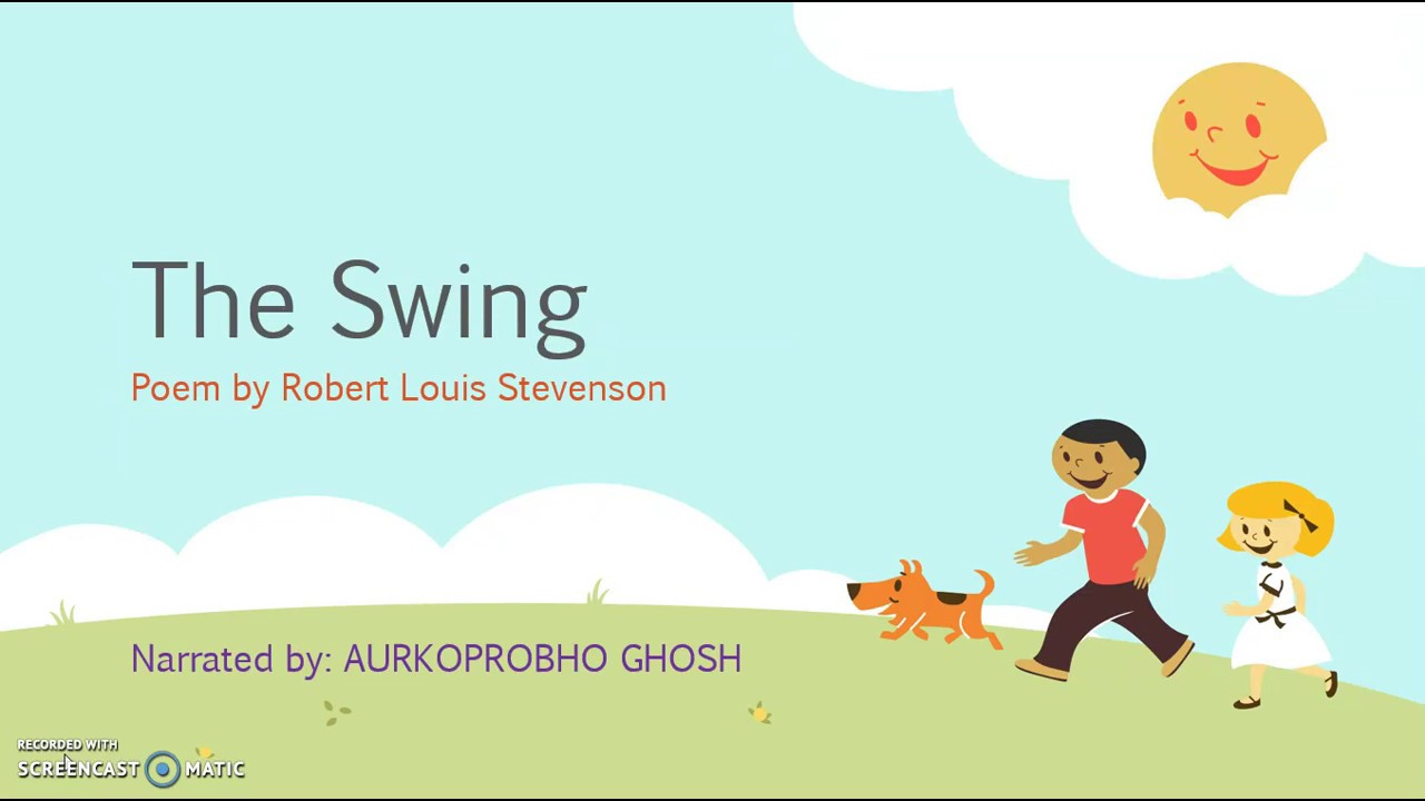 The Swing Poem Narrated By Aurkoprobho Ghosh