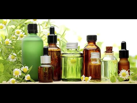 Natural essential oils for healthy life