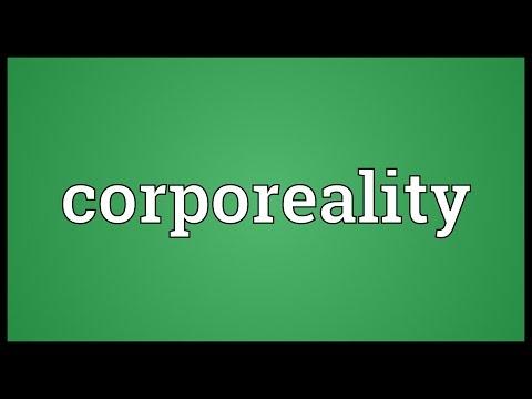 Header of corporeality