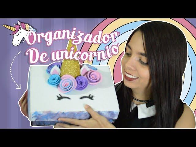 DIY ¡Haz tu Propio Organizador Estilo Unicornio! ? l Laury Ramirez