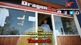 Introducing the UK's cheapest tackle shop! Dragon Carp Direct opens a new store in Tamworth