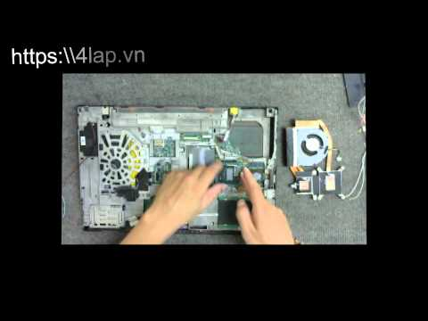 IBM W520 Laptop Motherboard Replacement