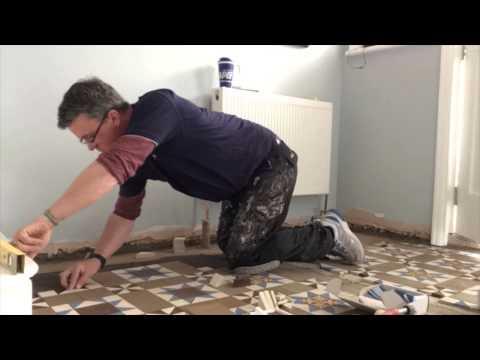 Victorian Floor Tile Restoration By Paul Johnson