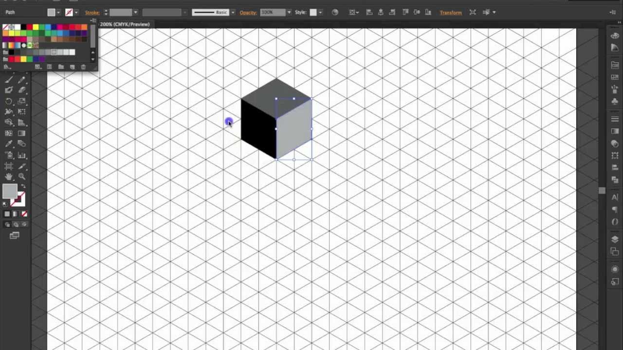 Illustrator / Perspectiva Isométrica - YouTube