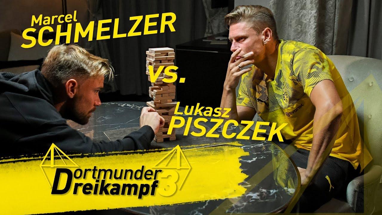 "Schmelzer vs. Piszczek | Dortmunder Dreikampf aus ""Kroko Doc"", ""Jenga"" & ""Vier gewinnt"""