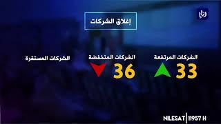 مؤشر بورصة عمان يغلق على انخفاض ( 27/2/2020)