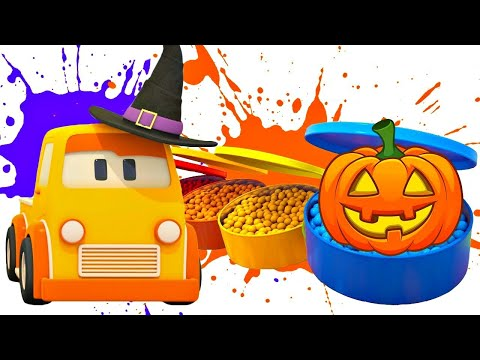 Умные машинки  - Мультфильм для детей - Машинки и хэллоуин