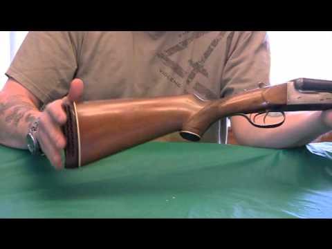 Davidson Firearms Co  N C  Spanish double barrled shotgun