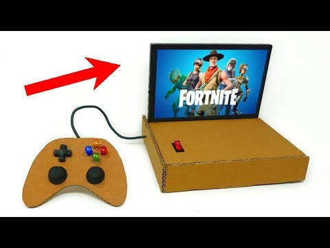 How to Make a HOMEMADE CONSOLE to Play FORTNITE!