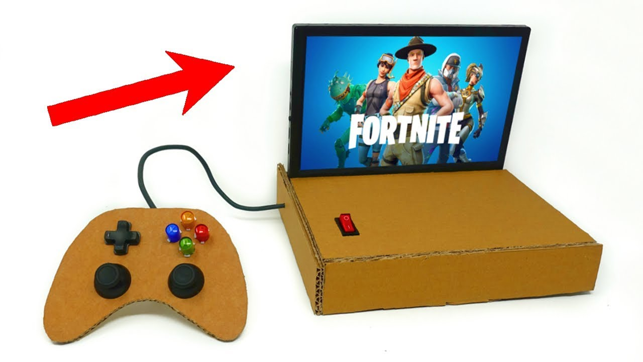 how to play fortnite pc console