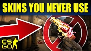 10 Amazing CSGO Skins For Weapons Everyone Hates
