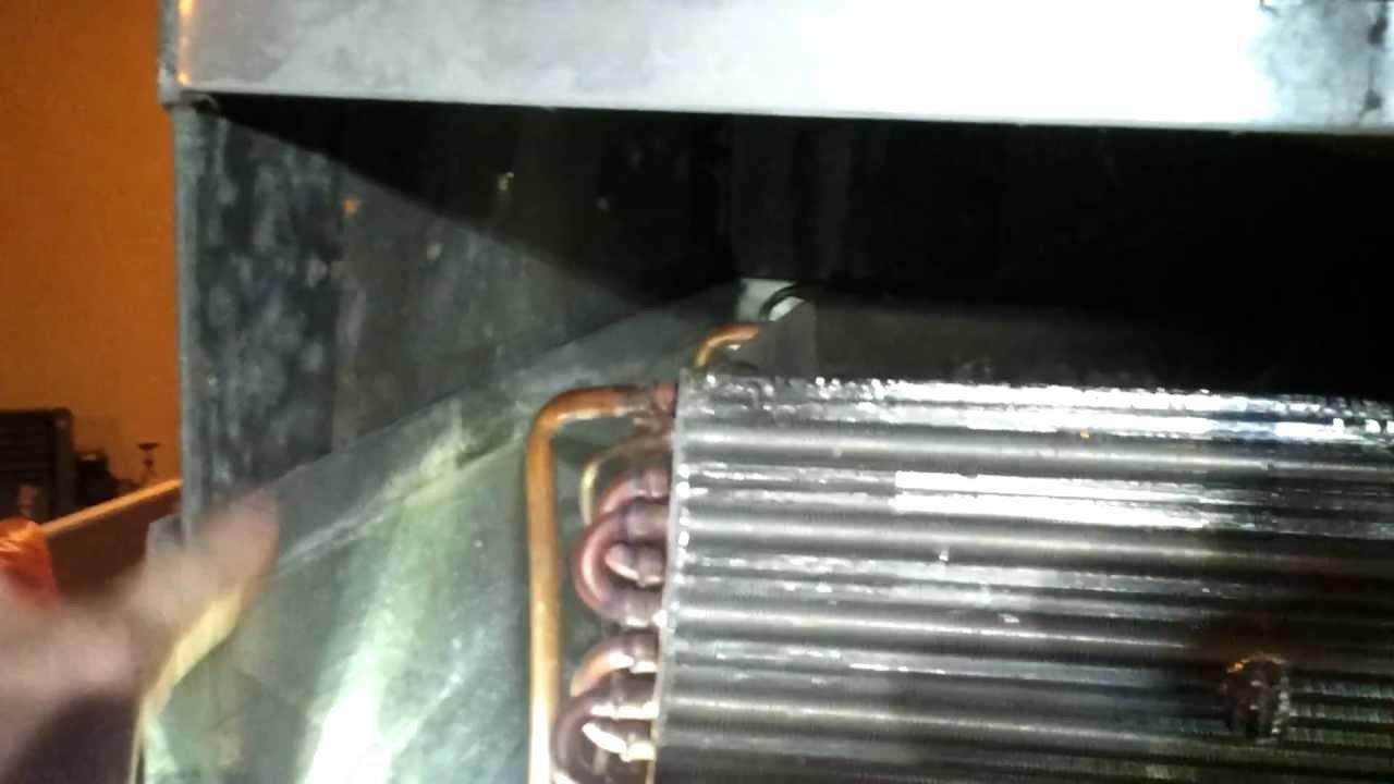 Furnace AC Water Leak Fixed - YouTube