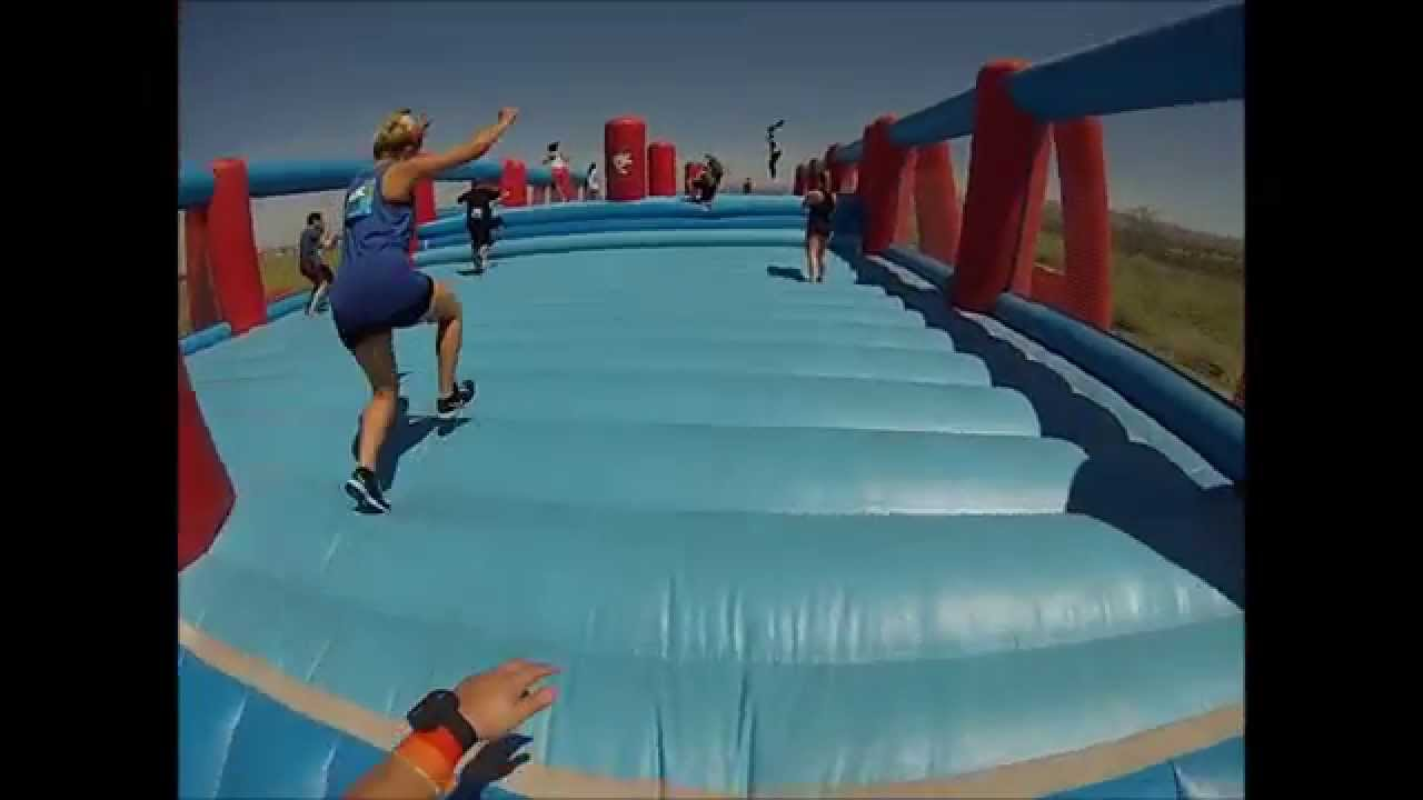 2014 ROC - Worlds Largest Bounce House - YouTube