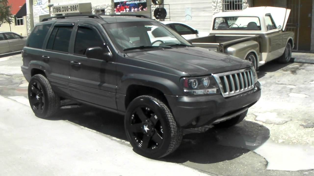20 inch xd series xd775 rockstar black wheels 2004 jeep cherokee rims miami. Black Bedroom Furniture Sets. Home Design Ideas
