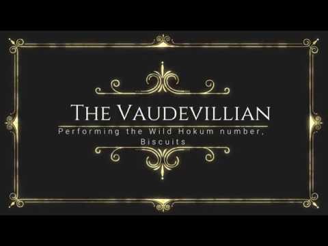 """The Vaudevillian Performing """"Biscuits"""""""