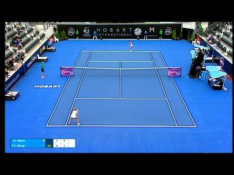 Nao Hibino v Camila Giorgi full match (2R) | Hobart International 2016