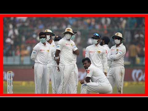 Daily News - The mask-gate | India v/s sri lanka: icc asked the Medical Committee to check the cond