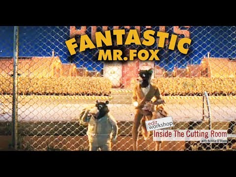 "Andrew Weisblum, ACE Discusses Editing Stop-motion Animation From ""Fastastic Mr. Fox"""